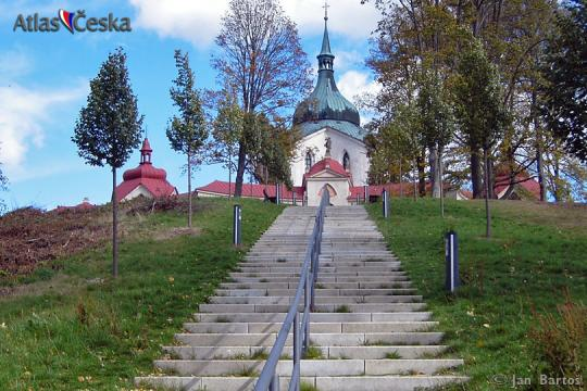 The Pilgrimage Church of St. John of Nepomuk at Zelená Hora -