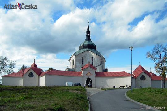 The Pilgrimage Church of St. John of Nepomuk at Zelená Hora -