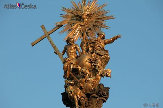 The Holy Trinity Column in Olomouc -