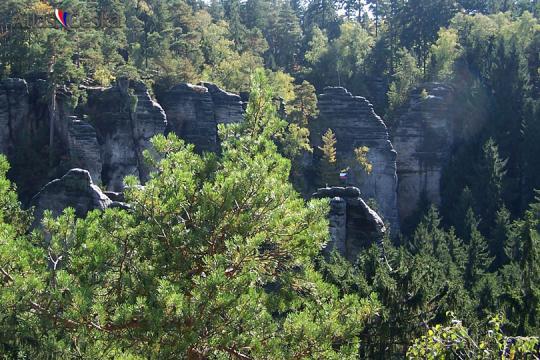 The Prachovské Rocks -