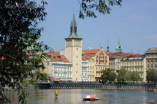 Floods in Prague in 1890 -